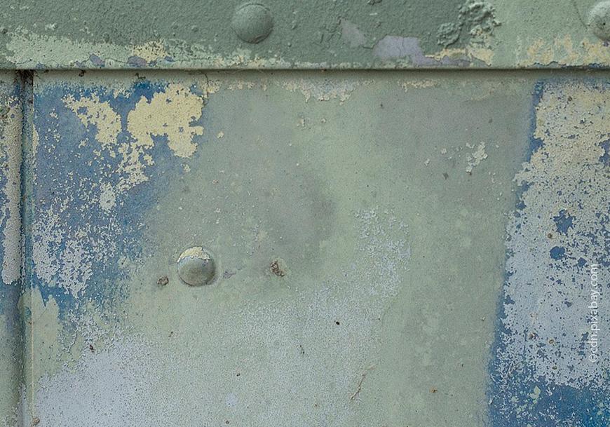 Коррозия окрашенного бетона