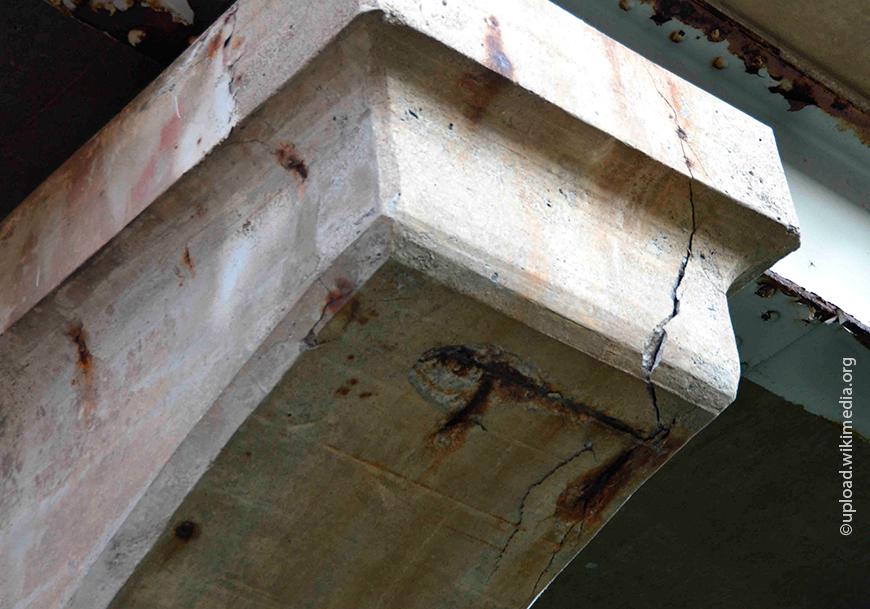 Коррозия и разрушение бетонных конструкций