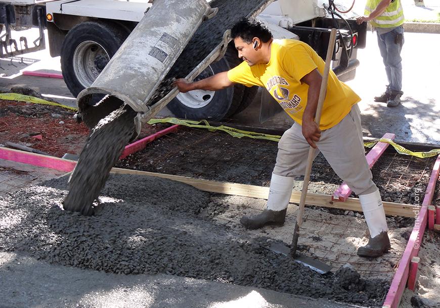 Гидратация бетона