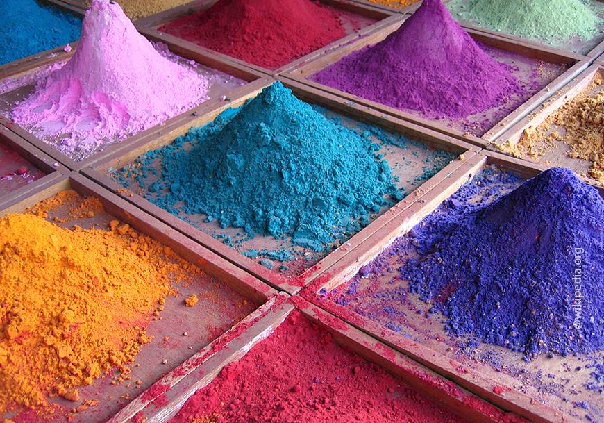 Порошковые красители для бетона