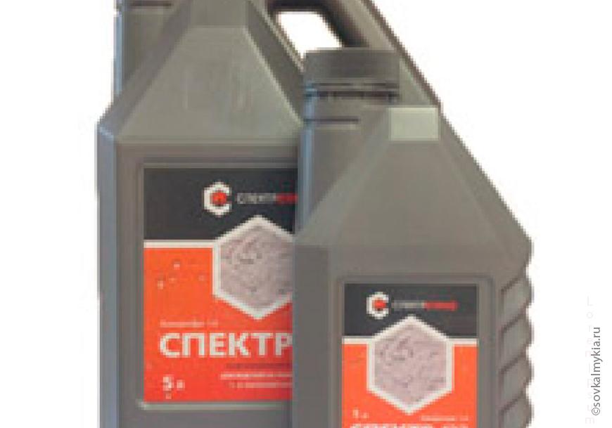 Гидрофобизатор Спектр 123 защищает бетон и арматуру