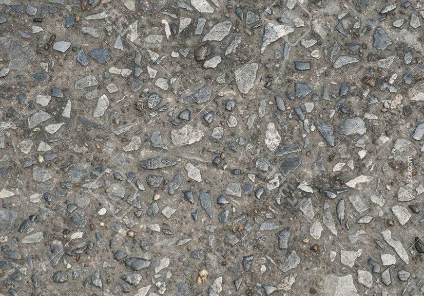 Добавление щебня в бетон предотвращает усадку