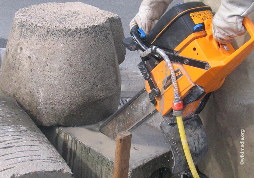 Для резки бетона лучше обращаться к профессионалам
