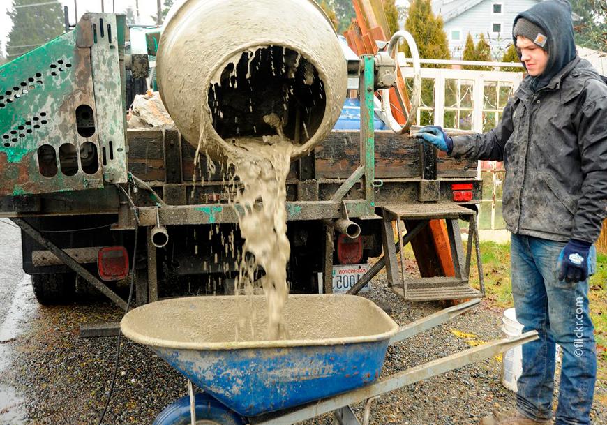 Техническая вода может использоваться для производства бетона